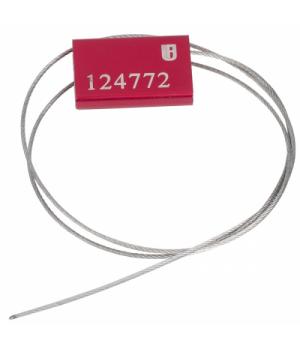Тросовая пломба 2 замка UF ТРОС 1.8/300mm